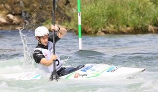 2021 ICF Canoe Slalom Junior & U23 World Championships Ljubjlana Urban Gajsek