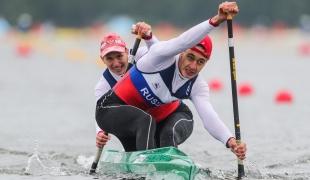 2021 ICF Canoe Sprint World Cup Barnaul Zakhar PETROV, Kirill ROMANOV