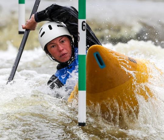 2019 ICF Canoe Slalom World Cup 5 Prague Ana SATILA