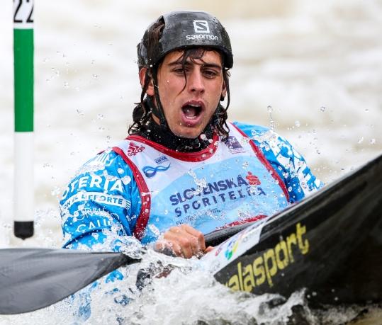 2018 ICF Canoe Slalom World Cup 1 Liptovsky Slovakia LLORENTE David ESP