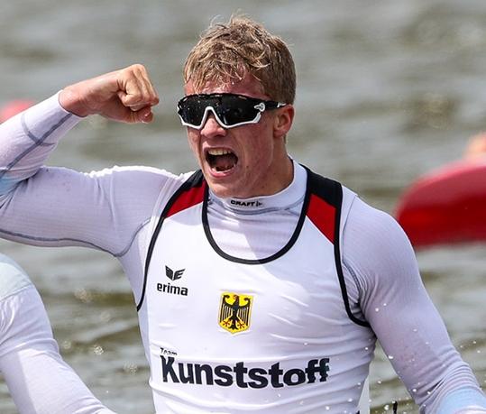 Jacob SCHOPF Germany ICF Canoe Kayak Sprint
