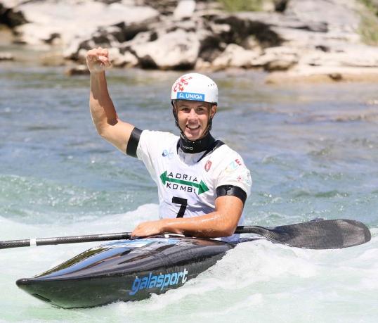 2021 ICF Canoe Slalom Junior & U23 World Championships Ljubjlana Jakub Krejci