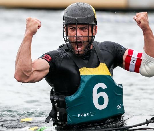 2018 ICF Canoe Polo World Championships Welland Canada Stephen Hubbard