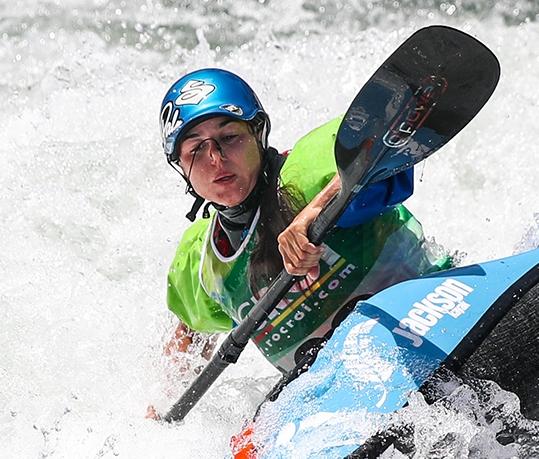 Zofia TULA Poland ICF Canoe Kayak Freestyle