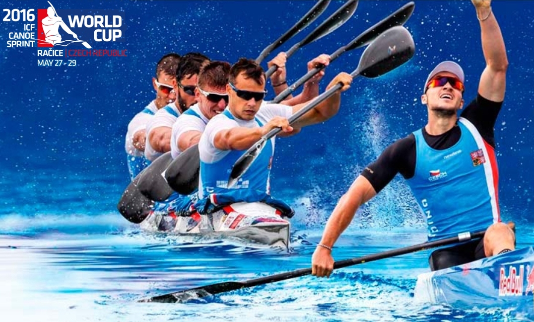 ICF Canoe Sprint World Cup Racice, Czech Republic
