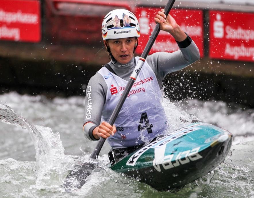 Canoe Slalom Augsburg, Germany