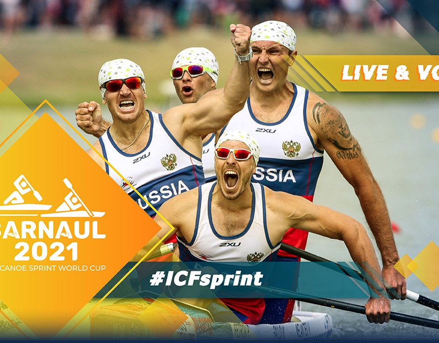 2021 ICF Canoe Kayak Sprint World Cup 2 Barnaul Russia Tokyo 2020 Olympic Qualification Live TV Coverage Video Streaming