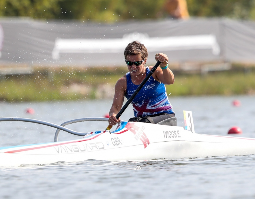 Great Britain Emma Wiggs Paracanoe World Champioships 2018