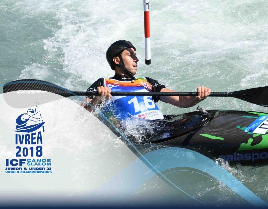 2018 ICF Canoe Slalom Junior U23 World Championships Ivrea Italy