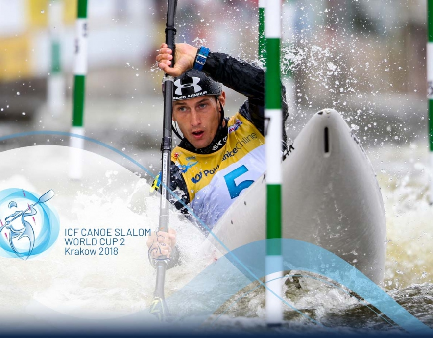 2018 ICF Canoe Slalom World Cup 2 Krakow Poland