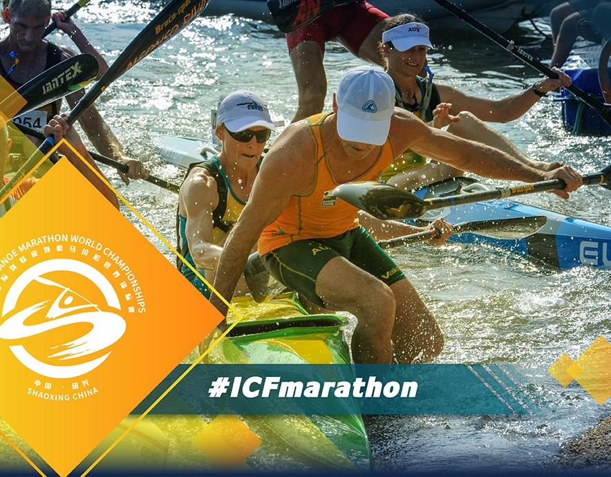 2019 ICF Canoe Marathon Masters World Championships Shaoxing China