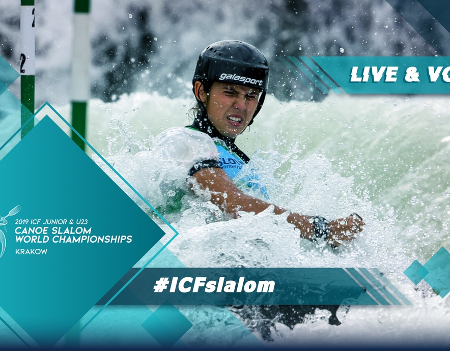 2019 ICF Canoe Slalom Junior U23 World Championships Krakow Poland