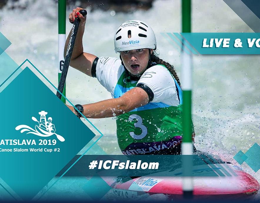 2019 ICF Canoe Slalom World Cup 2 Bratislava Slovakia