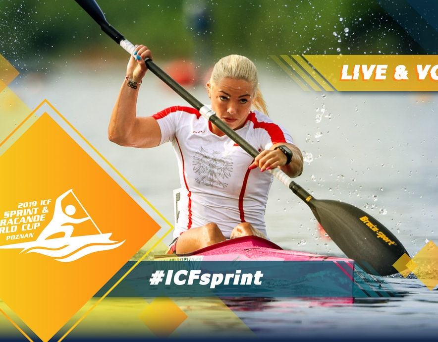2019 ICF Canoe Sprint World Cup 1 Poznan Poland