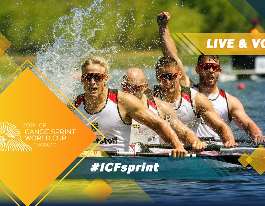 2019 ICF Canoe Sprint World Cup 2 Duisburg Germany