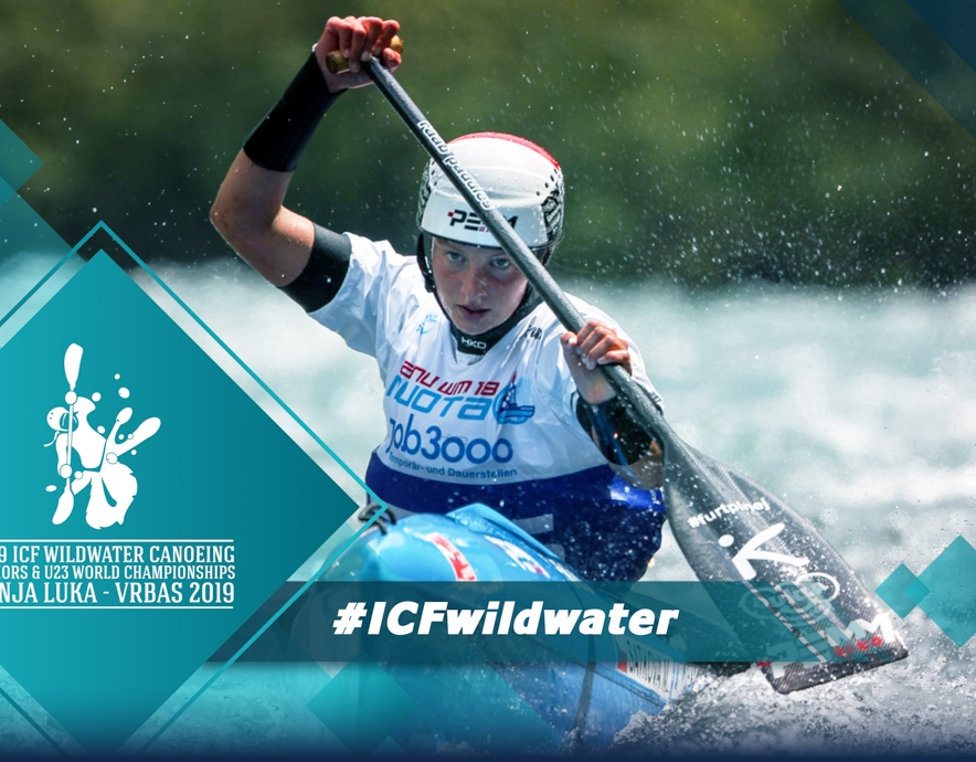 2019 ICF Wildwater Canoeing Junior U23 World Championships Banja Luka Bosnia and Herzegovina