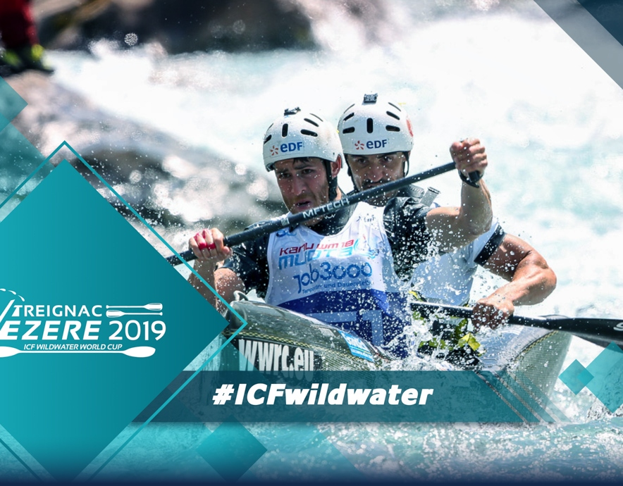 2019 ICF Canoe Wildwater World Cup Treignac France