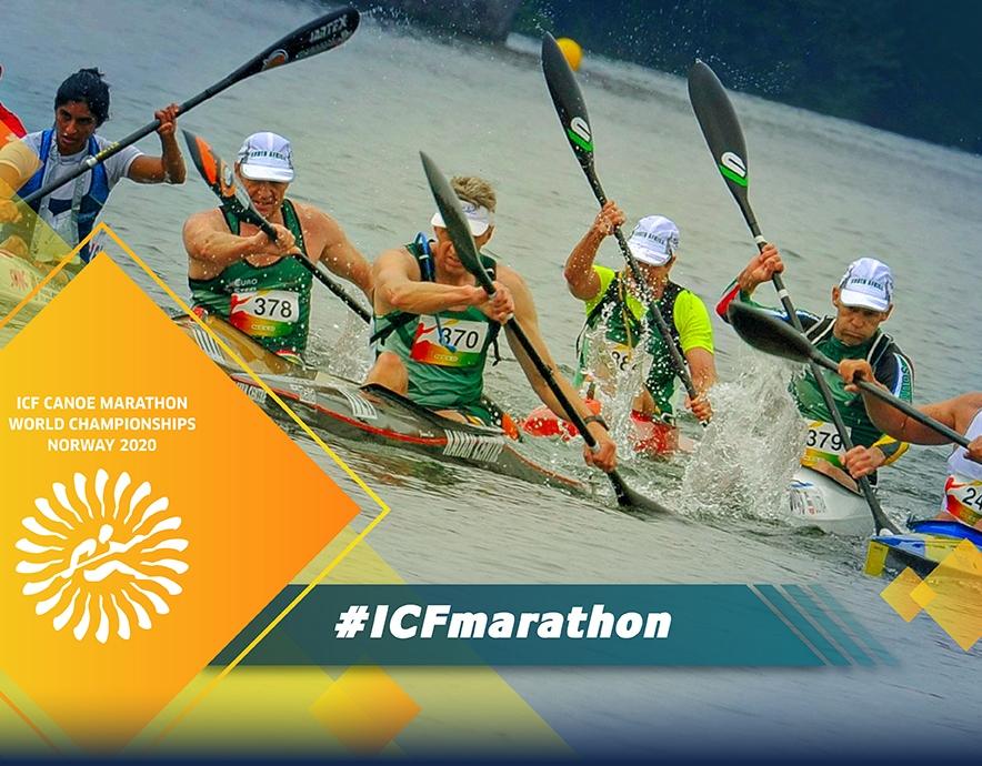 2020 ICF Canoe Kayak Marathon Masters World Championships Baerum Norway
