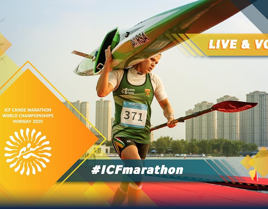 2020 ICF Canoe Kayak Marathon World Championships Baerum Norway Live Coverage