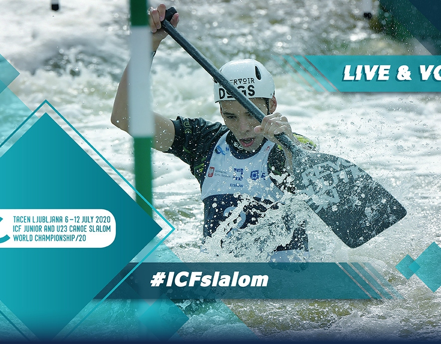 2020 ICF Canoe Kayak Slalom Junior U23 World Championships Ljubljana Tacen Slovenia Live Coverage