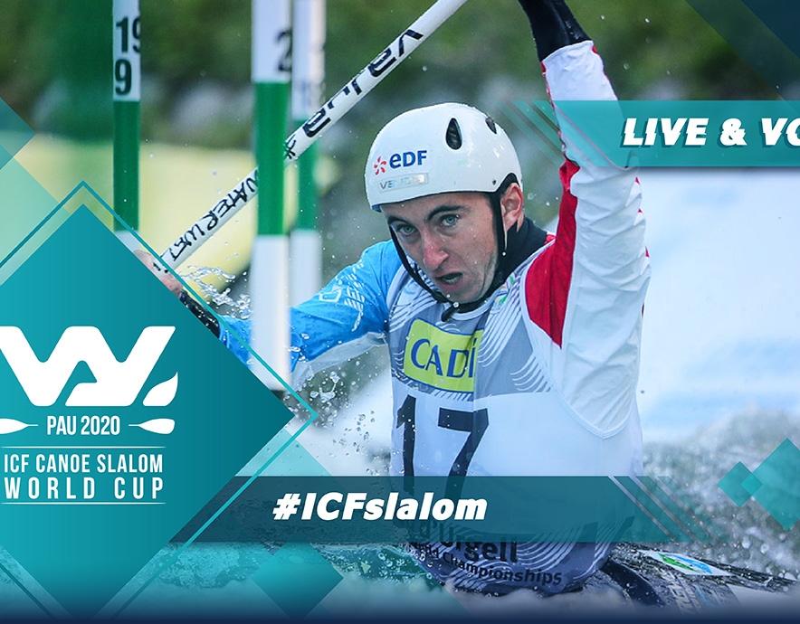 2020 ICF Canoe Kayak Slalom World Cup Pau France Live Coverage