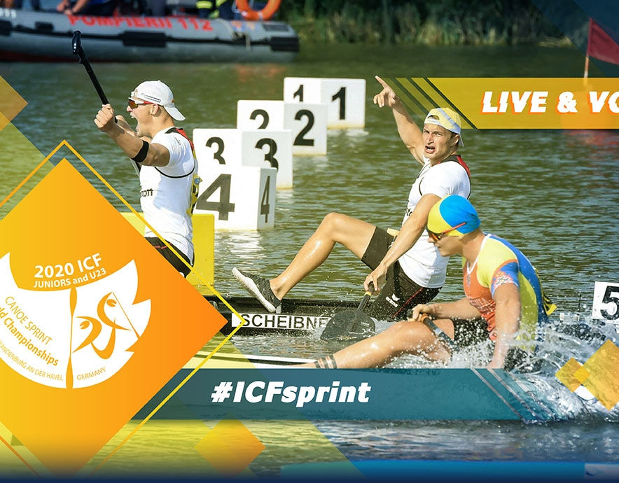 2020 ICF Canoe Kayak Sprint Junior & U23 World Championships Brandenburg Germany Live Coverage