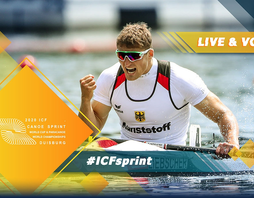 2020 ICF Canoe Kayak Sprint World Cup 2 Duisburg Germany Live Coverage