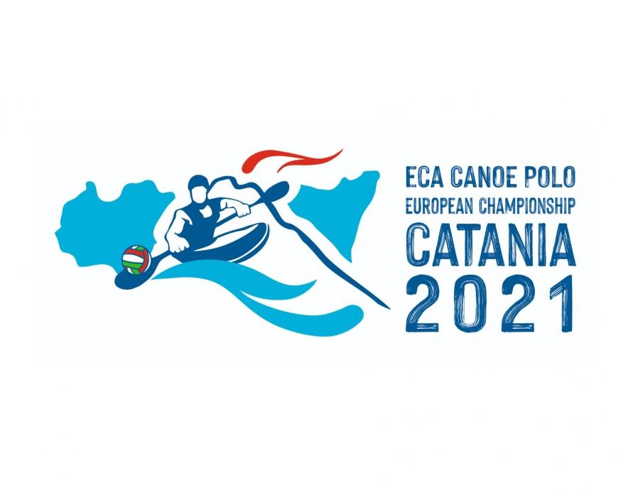 2021 ECA Canoe Polo European Championships logo