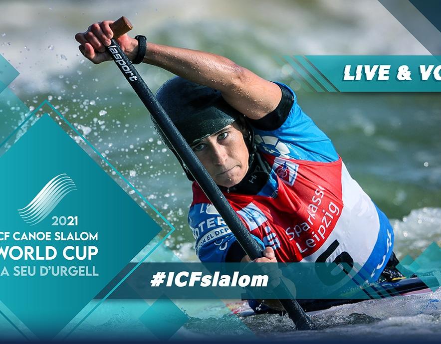 2021 ICF Canoe Kayak Slalom World Cup 3 La Seu D'urgell Spain Live TV Coverage Video Streaming