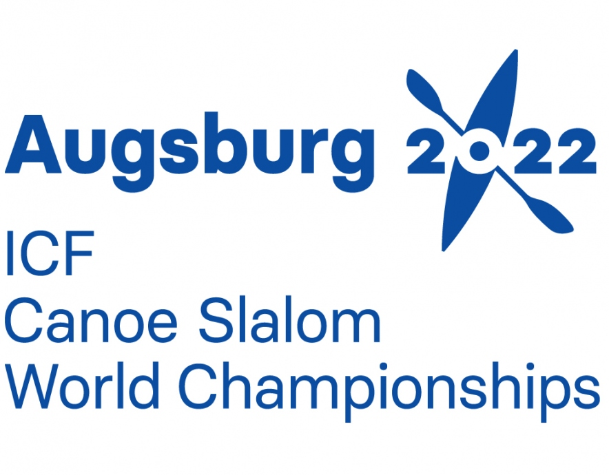 2022 ICF Canoe Slalom World Championships Augsburg logo