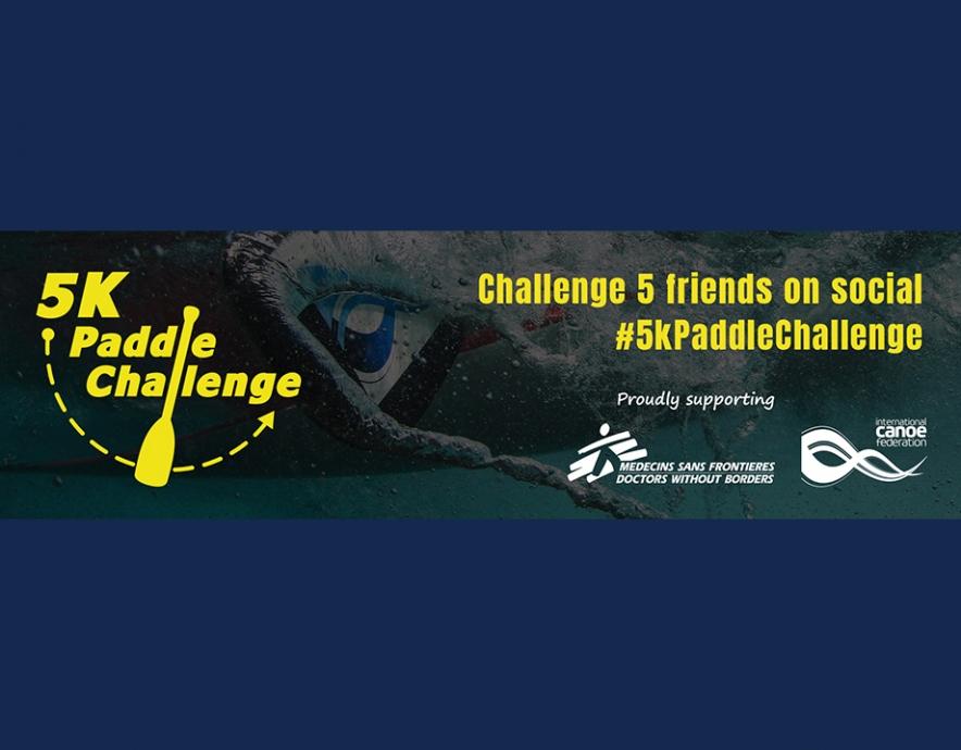 5k Paddle Challenge logo