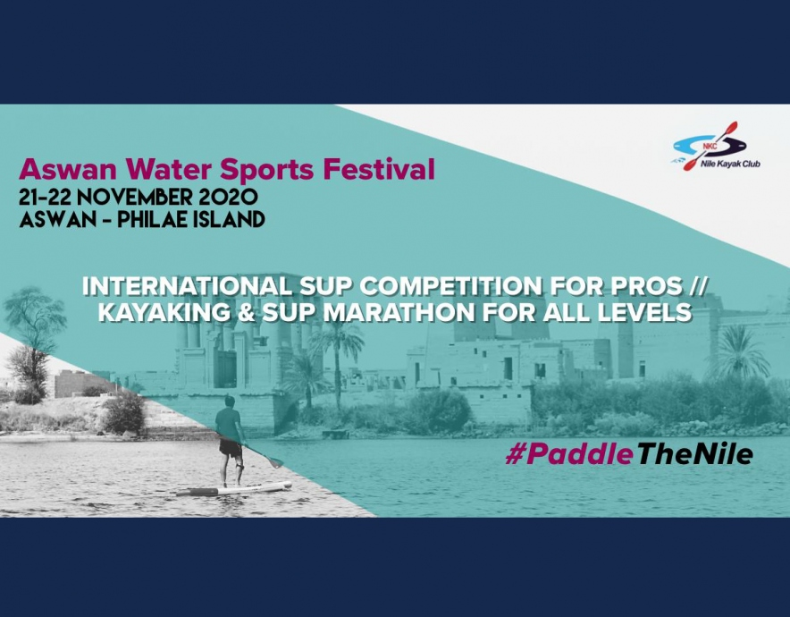 Aswan Water Sports Festival - promotional poster