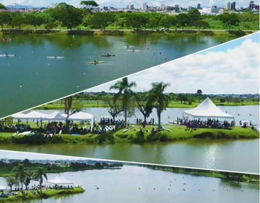 Canoe sprint venue compilation Curitiba