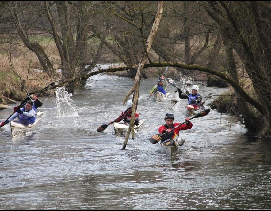Fulda Wildwater Canoeing Germany