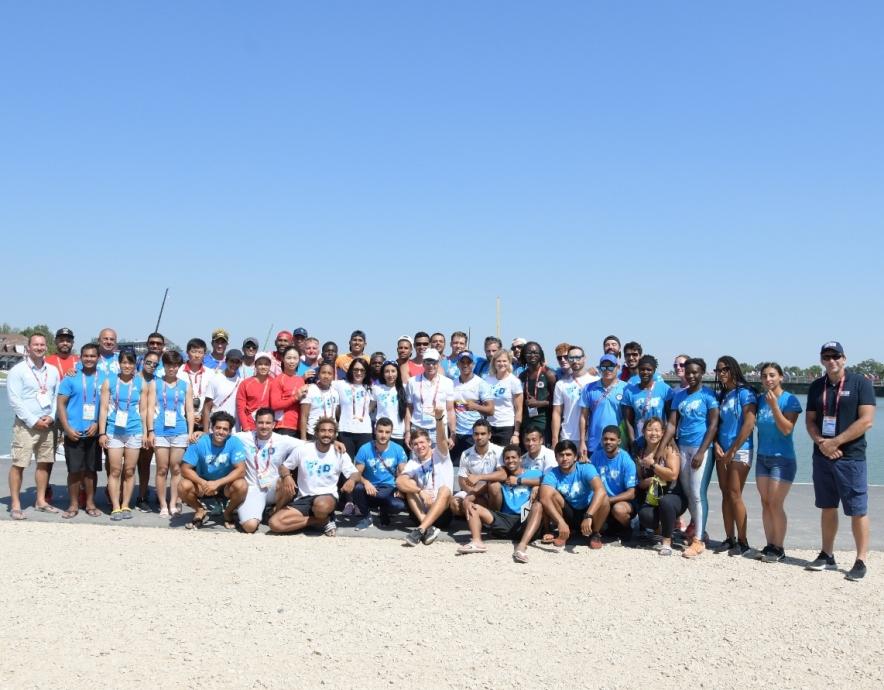 International Canoe Federation TIP development camp 2019