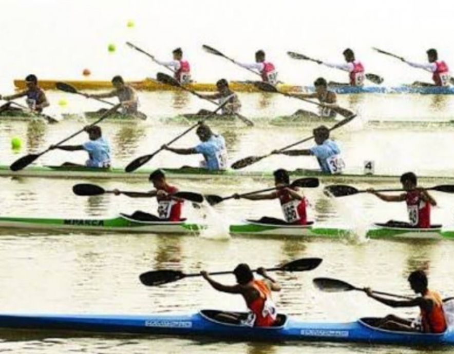 Kayak competition Bhopal India