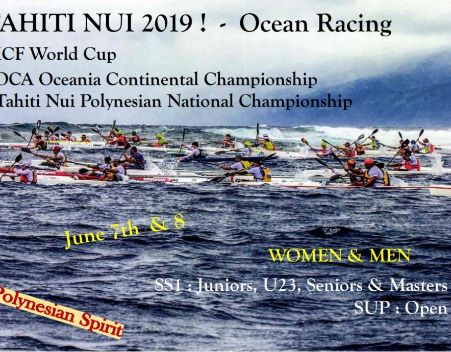 Tahiti Nui 2019 information