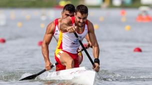 2019 ICF Canoe Sprint World Championships Szeged Hungary Alberto PEDRERO, Pablo GRANA