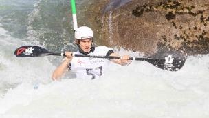 2021 ICF Canoe Slalom Junior & U23 World Championships Ljubjlana Alex Baldoni