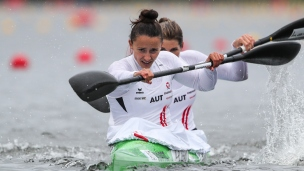2021 ICF Canoe Sprint World Cup Barnaul Ana-Roxana LEHACI, ViktoriaSCHWARZ