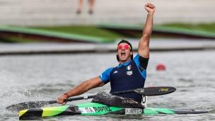 2020 ICF Canoe Sprint World Cup Szeged Hungary Andrea Domenico DI LIBERTO