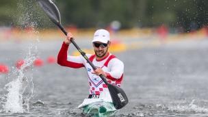 2021 ICF Canoe Sprint Olympic Qualifier Barnaul Antun NOVAKOVIC