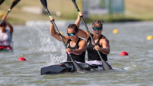 2019 ICF Canoe Sprint World Championships Szeged Hungary Catherine MCARTHUR, Brianna MASSIE