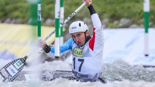 2019 ICF Canoe Slalom World Championships La Seu d'Urgell Spain Cedric JOLY