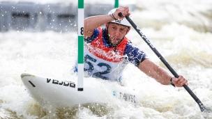 2019 ICF Canoe Slalom World Cup 5 Prague Christos TSAKMAKIS