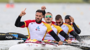 2021 ICF Canoe Sprint World Cup Szeged CRAVIOTTO, WALZ, AREVALO, GERMADE