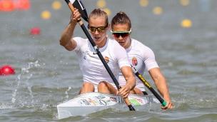 2019 ICF Canoe Sprint World Championships Szeged Hungary Danuta KOZAK, Anna KARASZ