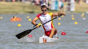 2019 ICF Canoe Sprint World Championships Szeged Hungary David BARREIRO