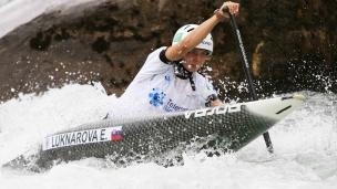 2021 ICF Canoe Slalom Junior & U23 World Championships Ljubjlana Emanuela Luknarova
