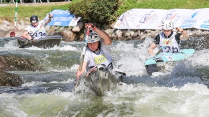 2019 ICF Wildwater Canoeing World Championships La Seu dUrgell Spain France C1 Women Team